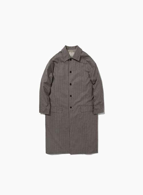 COTTON MAC COAT (GUN CLUB CHECK)
