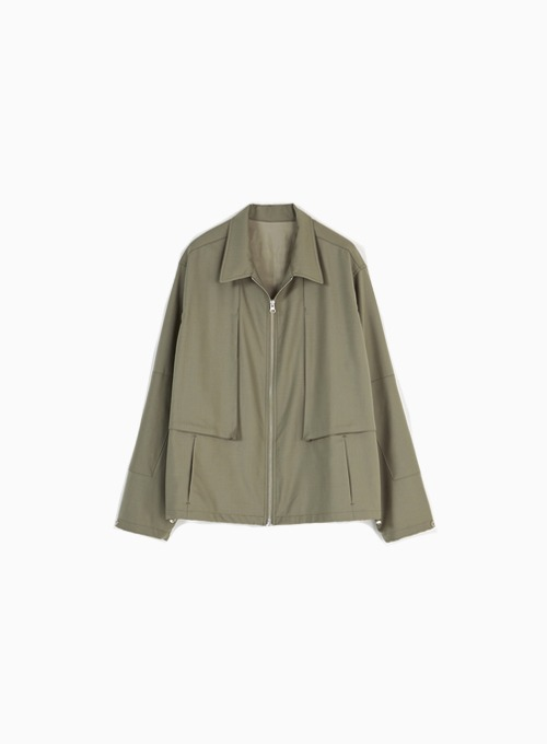 DRIZZLER JACKET (LIGHT OLIVE)