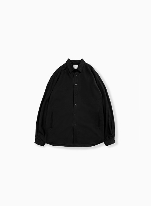 OVERSIZED SHIRT (BLACK)