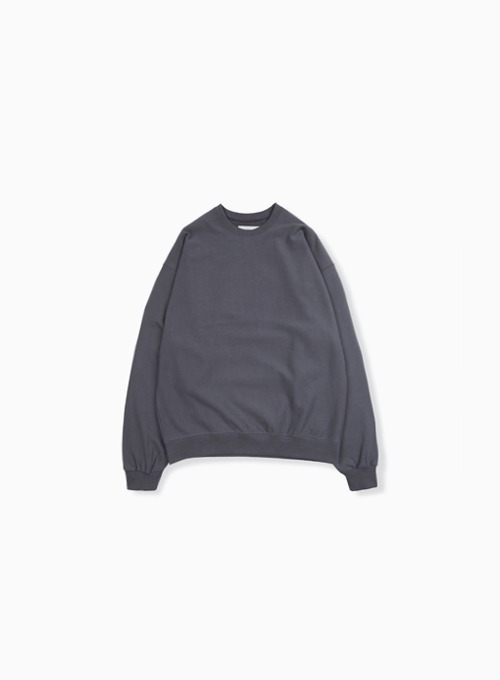 HARD TWIST SWEAT SHIRT (CHARCOL)
