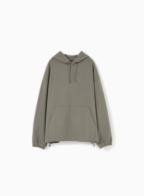 HOODED SWEATSHIRT (KHAKI)