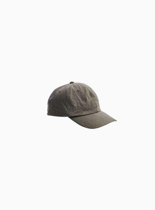 DRAWSTRING BALL CAP (D.GREEN)