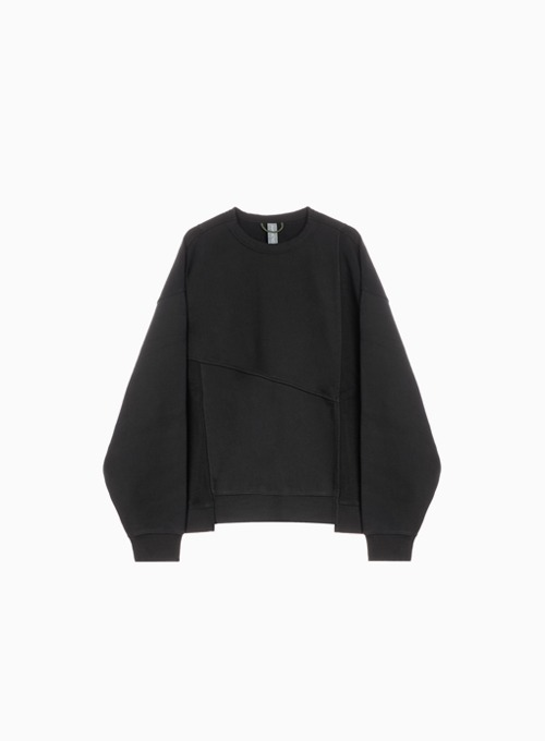 MIXED SWEATSHIRT (BLACK)
