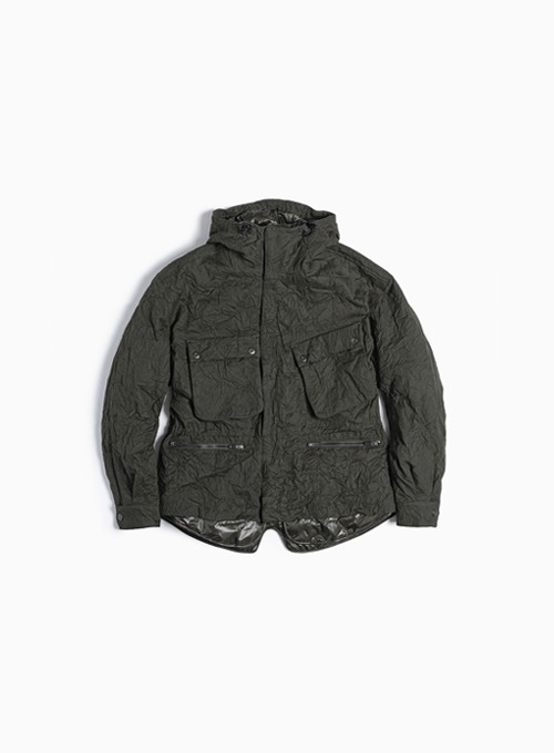 LAYERED RIDER PARKA (D.GREEN)