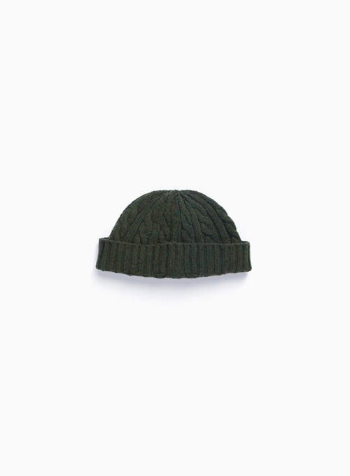 FISHERMAN WATCH CAP (OLIVE)