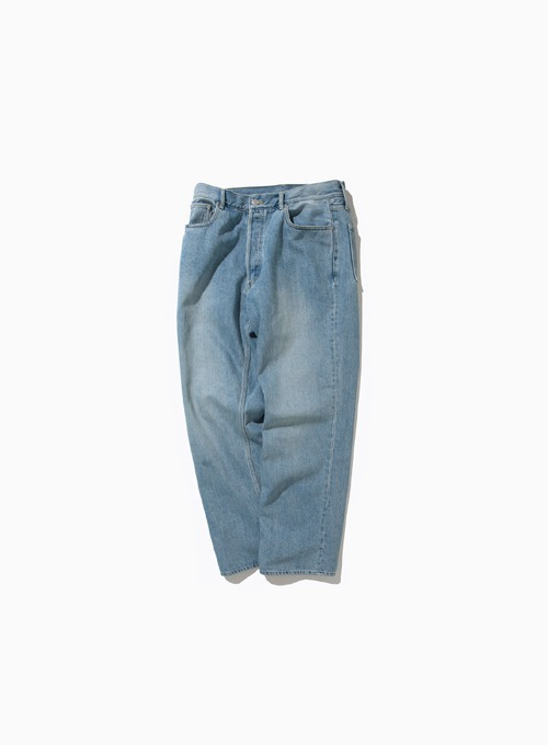 REGULAR DENIM PANTS (BLEACH)