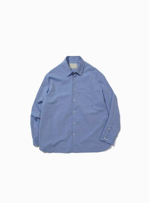 WIDE SHIRT (BLUE)