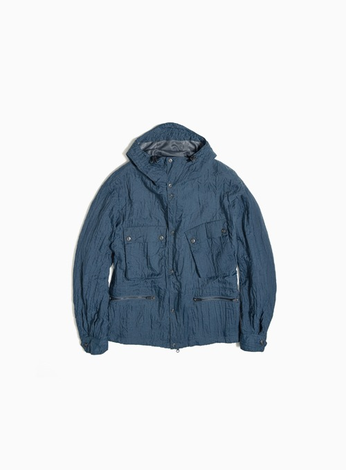 RIDER SHORT PARKA (CHARCOAL BLUE)