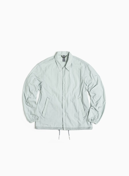 LOGO LABEL COACH JACKET (MISTY MINT)