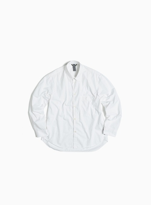 LOGO LABEL SHIRT (OFF WHITE)