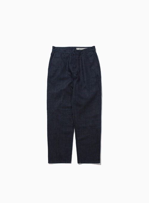 ONE-WASHED COMFORT DENIM (BLUE)