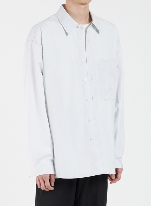 LOOSED SHIRT (LIGHT GREY)