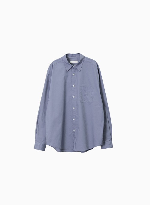 STEADY SHIRT (ASH BLUE)