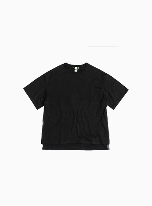 LAYERED T-SHIRT (BLACK)