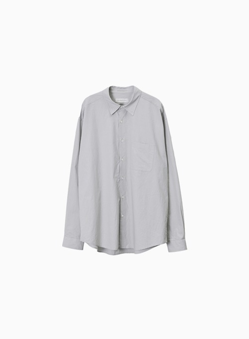 STEADY SHIRT (ICE GREY)