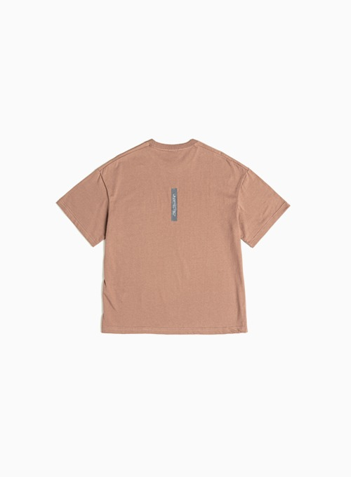 LOGO LABEL T-SHIRT (SALMON)