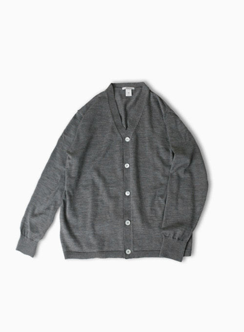 COMFORT INSIDE OUT CARDIGAN (GREY)