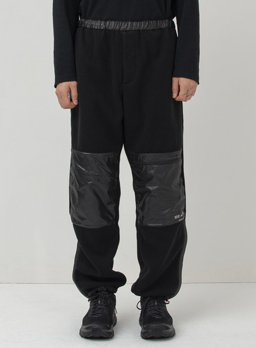 ZIPPED JOINT PANTS (BLACK)