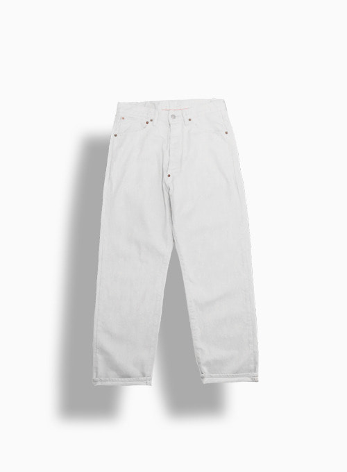 NEW FARMERS 5P DENIM ONE WASH (WHITE)