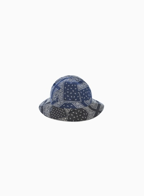 TRAVELER BUCKET HAT (MULTI PAISLEY)