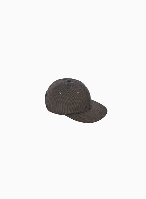 MECHANIC CAP (BROWN/BLACK STRIPE)