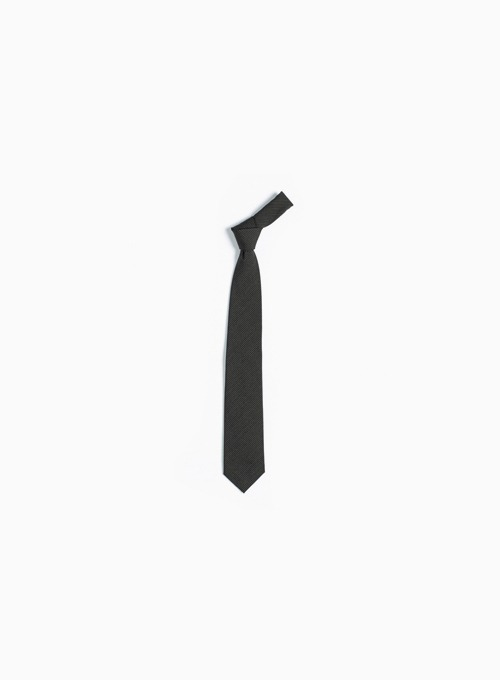TIE (BROWN/BLACK STRIPE)