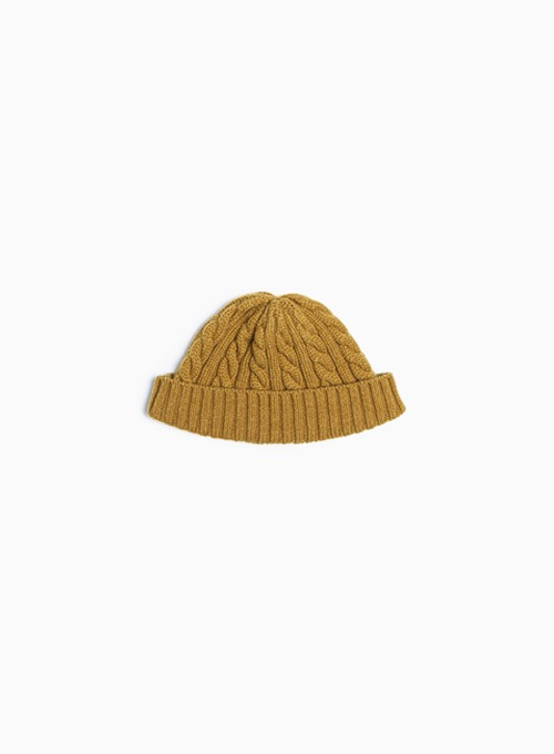 FISHERMAN WATCH CAP (MUSTARD)