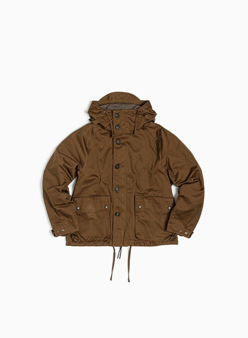 FOUL WEATHER PARKA (BROWN BACKSATIN)