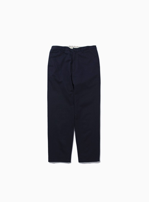 WASHED TAPERED PANTS (NAVY)