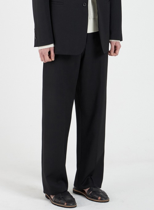 WIDE TROUSERS (BLACK)