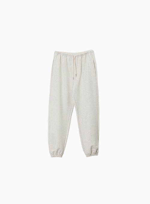 ESSENTIAL SWEAT PANTS (ECRU)