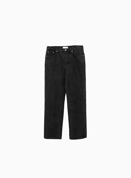 REGULAR DENIM (BLACK)