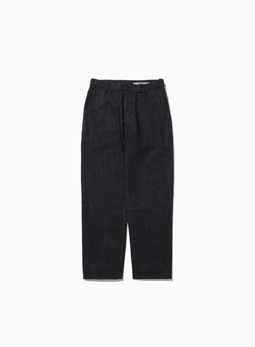 ONE-WASHED COMFORT DENIM (BLACK)