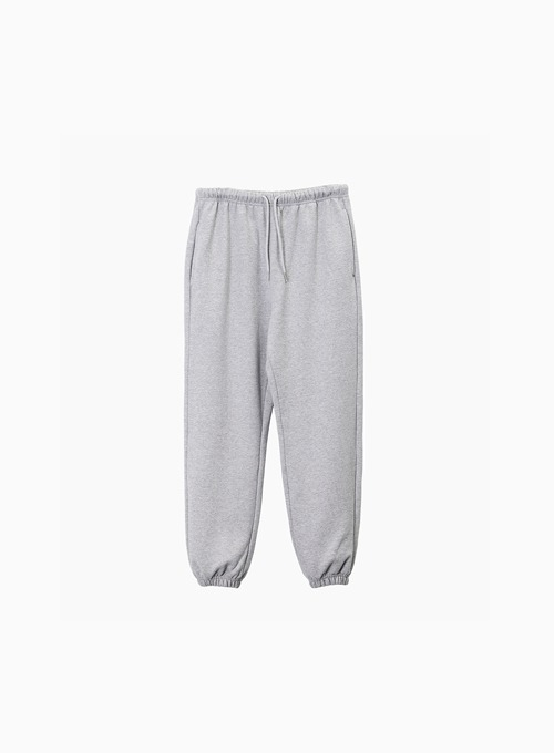 ESSENTIAL SWEAT PANTS (GREY)