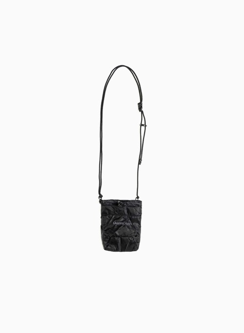LOGO CHALK BAG (BLACK)