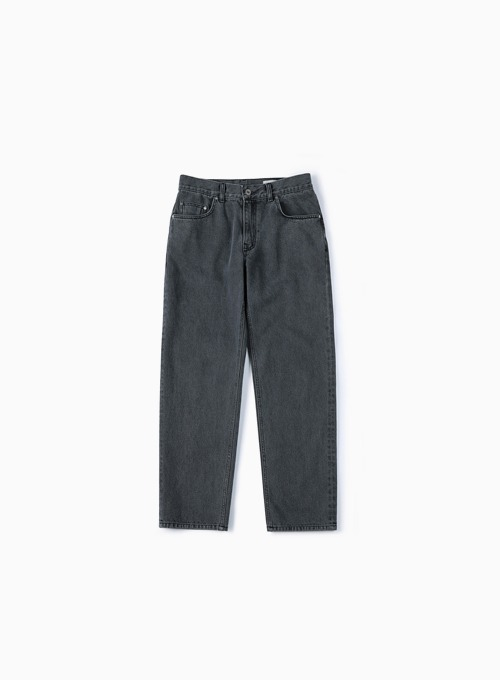 FIRST EDITION DENIM PANTS (DARK GREY)