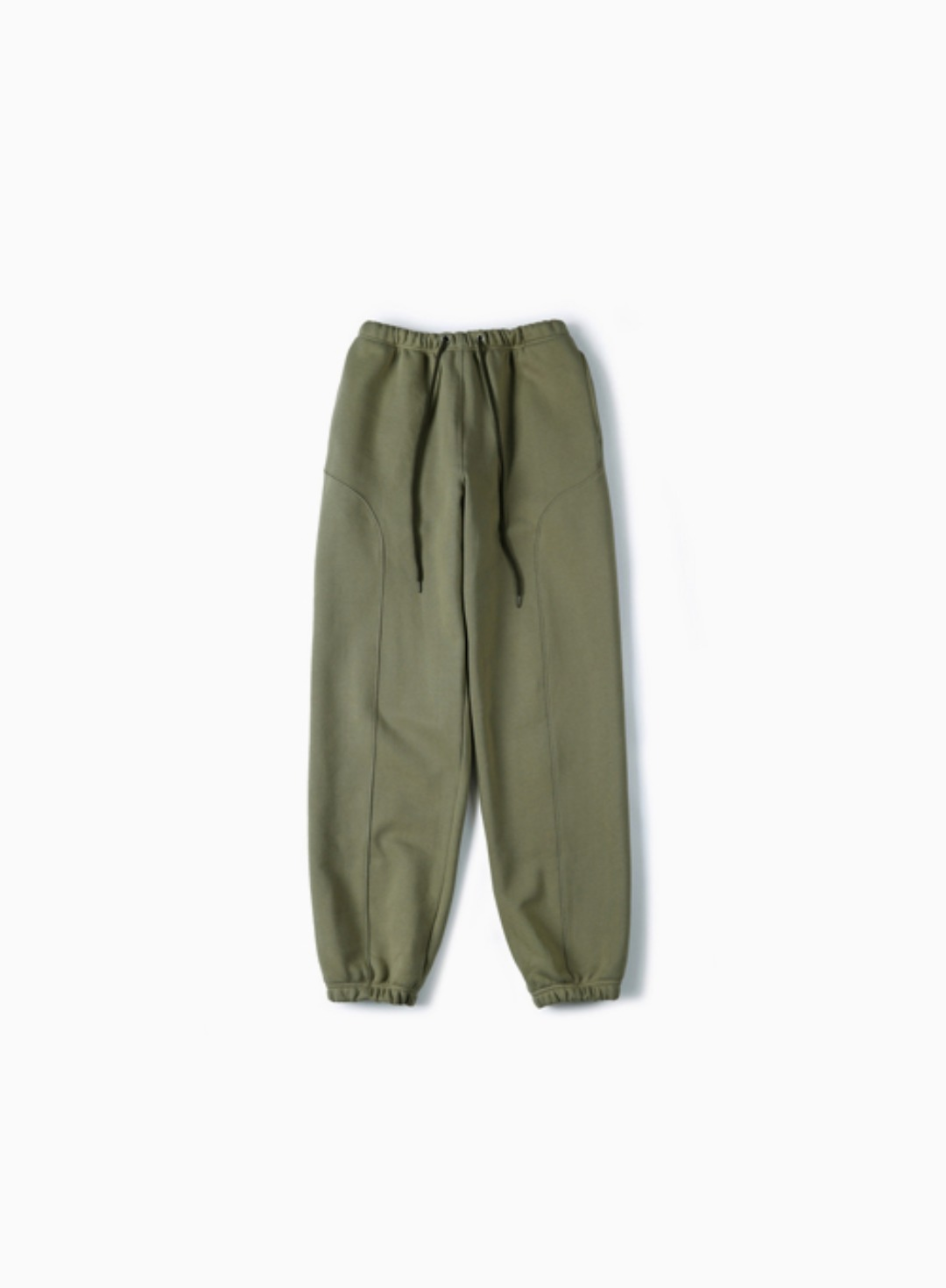 HEAVYWEIGHT SWEAT PANTS (KHAKI)