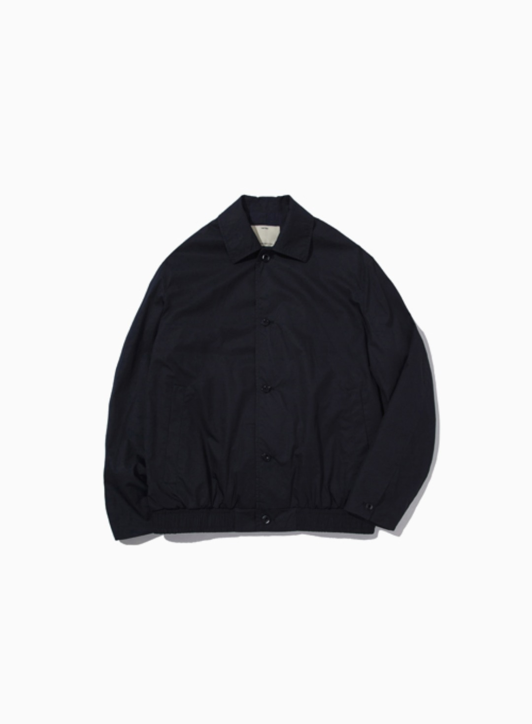 COTTON BLOUSON (NAVY)