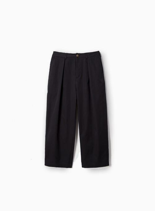 MARTIN CROP PANTS (BLACK)