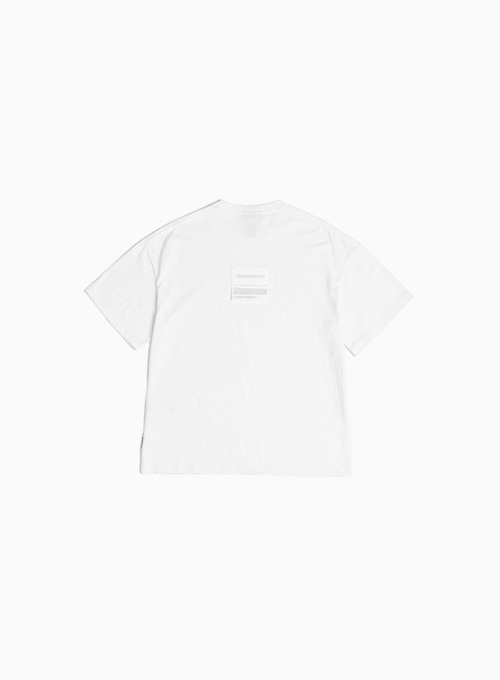 LOGO PATCH T-SHIRT (OFF WHITE)