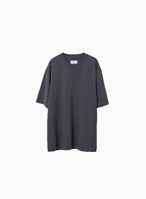 ESSENTIAL T SHIRT (CHARCOAL)