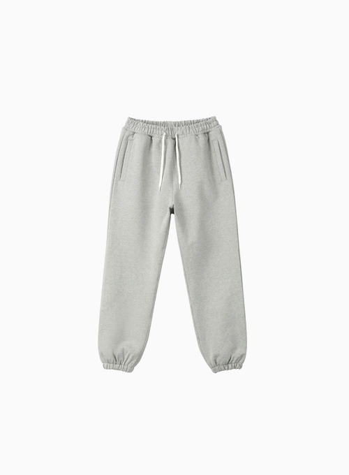HEAVY SWEAT PANTS (MELAGE GREY)